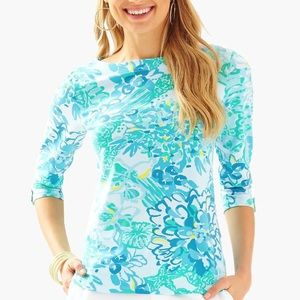 Lilly Pulitzer Juline top In A Pinch